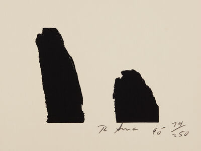 Richard Serra, 'Fuck Helms, from Harvey Gantt', 1990