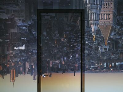 Abelardo Morell, 'Camera Obscura: View of Manhattan from Financial District, Early Evening', 2019