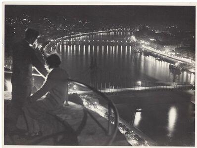 Jenő Dulovits, 'Budapest by night', ca. 1935