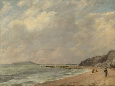 John Constable, 'Osmington Bay', 1816