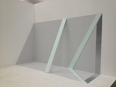Genilson Soares, 'Uma prancha encostada na parede', 1973
