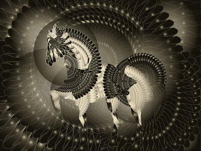 Jean-Claude Meynard, 'Pegasus 飞马', 2014