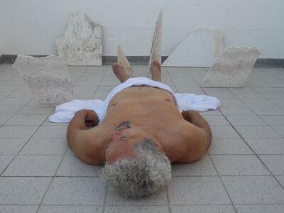 Pedro Terán, 'Lamento de piedra o Mantegna in Manoa', 2018