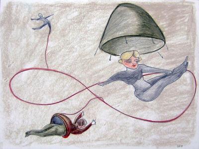 Rosa Loy, 'Bänder', 2010