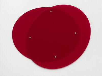 Gerwald Rockenschaub, 'Plexiglass (GS Red 3H00', 2015