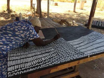 Lena Nyadbi, 'Dayiwool doo Jimbirlam Ngarranggarni', 2015