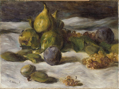 Pierre-Auguste Renoir, 'Still Life with Fruit (Figs and Currants)', ca. 1870
