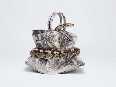 Tyler Shields, 'Python Birkin', N/A