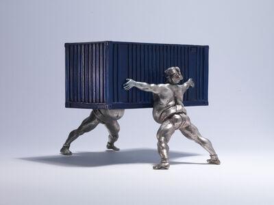 David Mach, 'It Takes Two', 2002