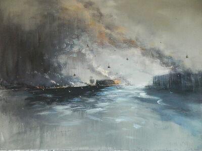 """Konstantin Batynkov, '""""In the harbor"""" 8', 2013"""