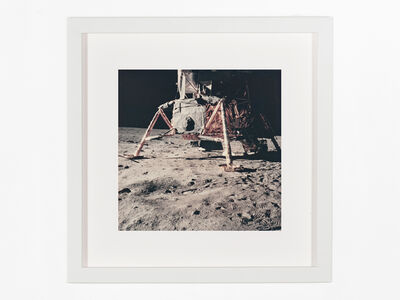 Buzz Aldrin, 'Part of Aldrin's panorama north of the lunar module', 1969