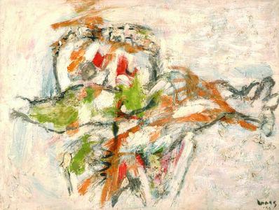 Oswaldo Vigas, 'La novia ', 1963