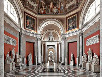 Massimo Listri, 'Musei Vaticani - Sala delle Muse, Rome', 2014