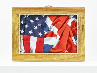 Meschac Gaba, 'Valise diplomatique (UK - USA)', 2017