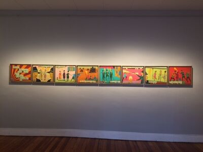 Stephen Chambers, 'The Gangs Of New York - work in 8 pieces', 2014