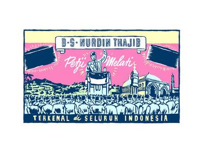 """Krack! Studio, 'Petji Melati Terkenal di Seluruh Indonesia, 1950 (from the series """"Tanah/Impian (Dream/Land)"""")', 2014-2017"""