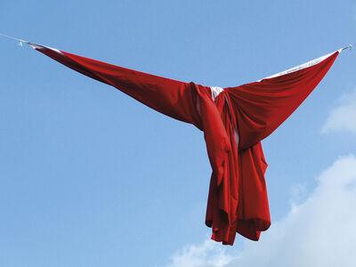 Naneci Yurdagül, 'Hanging Bayrak', 2015