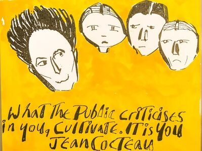 Anthony Haden Guest, 'Jean Cocteau', 2016