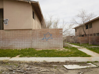 Richard Misrach, 'Jewish Star, George Air Base, Victorville, California', 2017