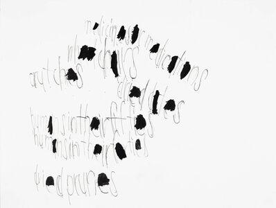 John Patrick McKenzie, 'Untitled (Medicines or Medications)', 2018