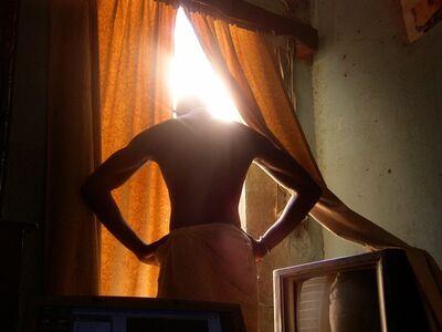 Mohamed Camara, 'Les Sans-Têtes, j'ai la tête dans le cul.', 2006