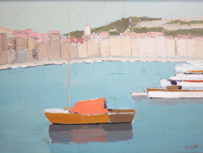 Pierre Palue, 'Boat Harbor', 1950-1965