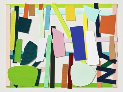 Imi Knoebel, 'Gartenbild 18', 2008/2016