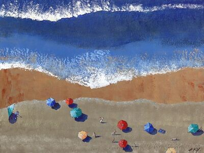 Kathleen Keifer, 'Beach Blues', 2021