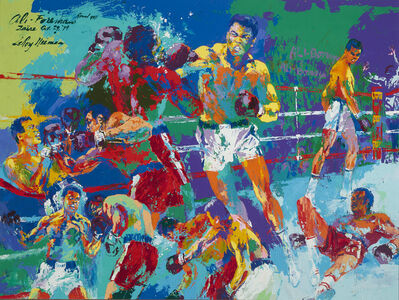 LeRoy Neiman, 'The Rumble in the Jungle', 1979