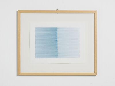 Irma Blank, 'Schrift-Atem-Übung', 1988