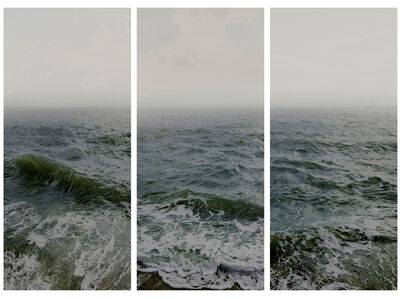 Nadav Kander, 'Water I (Shoeburyness towards the Isle of Grain) Parts 1, 2 & 3 (Triptych)', 2016
