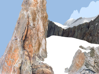 Olivo Barbieri, 'Alps -Geographies and People #9', 2012