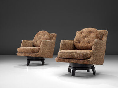 Edward Wormley, 'Set of Swivel Chairs Model '5609'', 1950s
