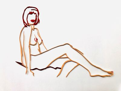 Tom Wesselmann, 'Monica Sitting One Leg on the Other', 1986/94
