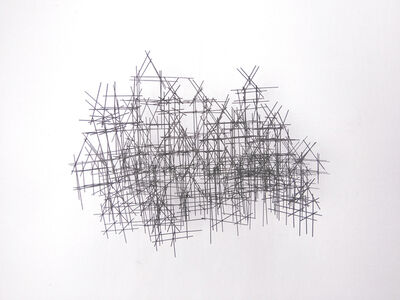 David Moreno (b.1978), 'Nebulosa de casas (condensacion)', 2017
