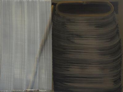 Song Hyun Sook, '5 Brushstrokes over 1 Brushstroke and 8 Brushstrokes', 2012