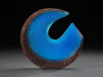 Alex Gabriel Bernstein, 'Blue steel reach'