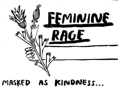 Carissa Potter, 'Feminine Rage', 2019