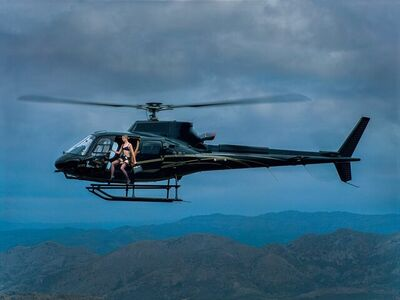 Tyler Shields, 'The Helicopter', 2021