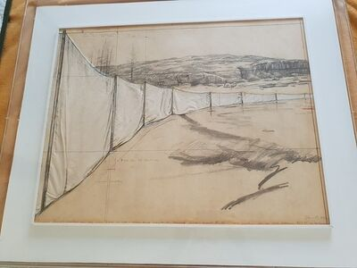 Christo, 'Running Fence', 1972
