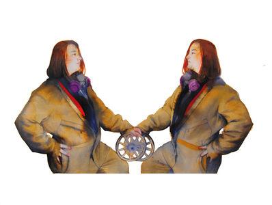 June Glasson, 'Adrienne x2'
