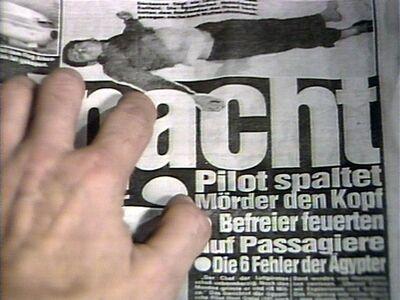 Harun Farocki, 'Keywords - impact images. An interview with Vilém Flusser', 1986