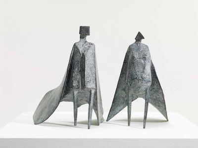 Lynn Chadwick, 'Walking Cloaked Figures IX ', 1980