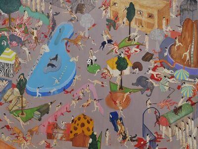 Akira Ikezoe, 'War at zoo', 2011