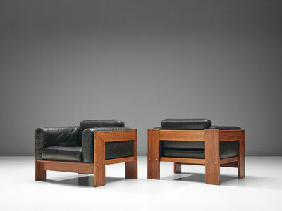 Tobia Scarpa, 'Pair of 'Bastiano' Club Chairs', Design 1960-manufactured in 1970s.
