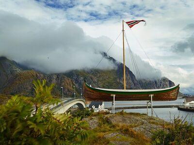 R. J. Kern, 'Lofoten Pastoral Study, Norway', 2013