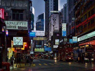 Alain Bublex, 'Plan Voisin de Paris - Contre-allées HK_831'