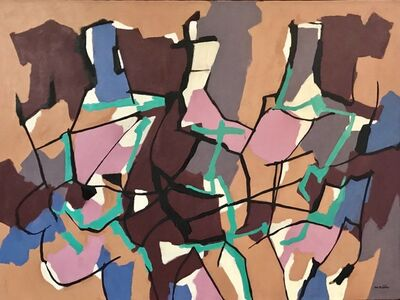 Max Arthur Cohn, 'Three Abstract Figures', 1959