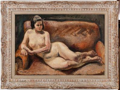 Achille Emile Othon Friesz, 'Lying Nude', 1924
