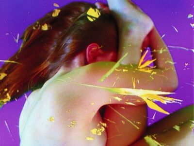 Pipilotti Rist, 'Homo Listening to the Sole of Foot', 2005